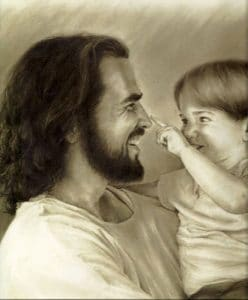 Being A Child: Not I but Christ