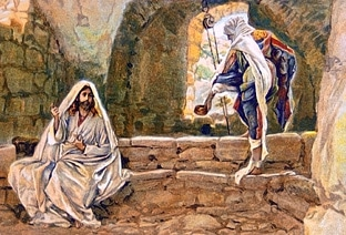 Jesus and Samaritan woman