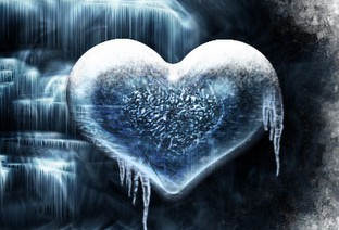 cold love, ice heart