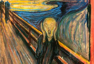 Van Gogh, The Scream