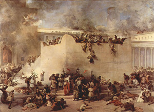 Destruction of the Temple of Israel