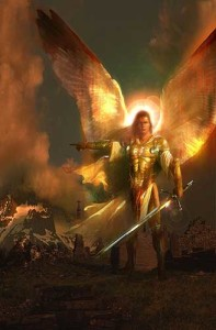archangel Michael MIGHTY WEAPONS AGAINST THE FLESH