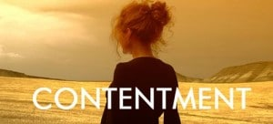 THE AUDACITY OF CONTENTMENT