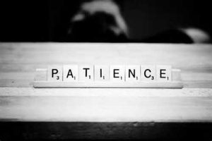Wait Patiently, Because God Isn't Like Us