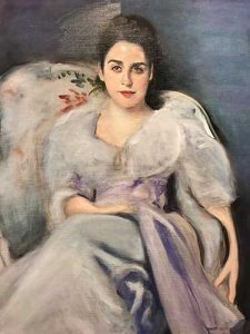 Painting of Lady Agnew