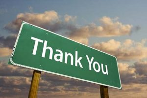 Thank You – More than Mere Words