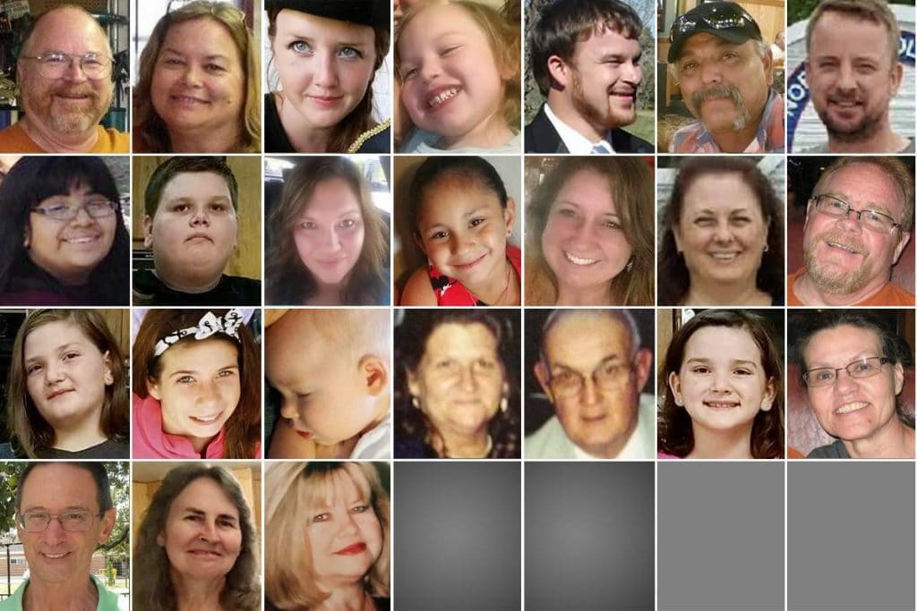 Texas Church shooting victims family sutherland springs