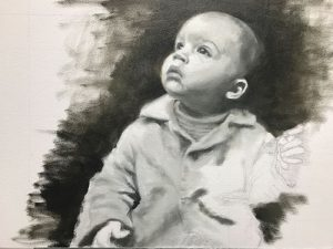 Completion of a Portrait