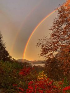 A Rainbow and The Smile of God