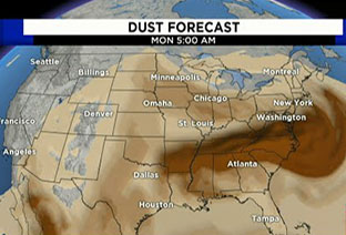 Could the Saharan Dust Cloud Be Our Blessing